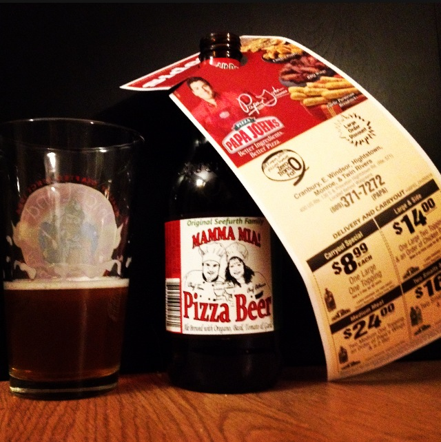 Pizza Beer Company's Mamma Mia! Pizza Beer. Only $2.95 for a large ...